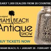 Original Miami Beach Antique Show Layers Language Targeting on Online Ads