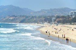 Santa Monica shoreline